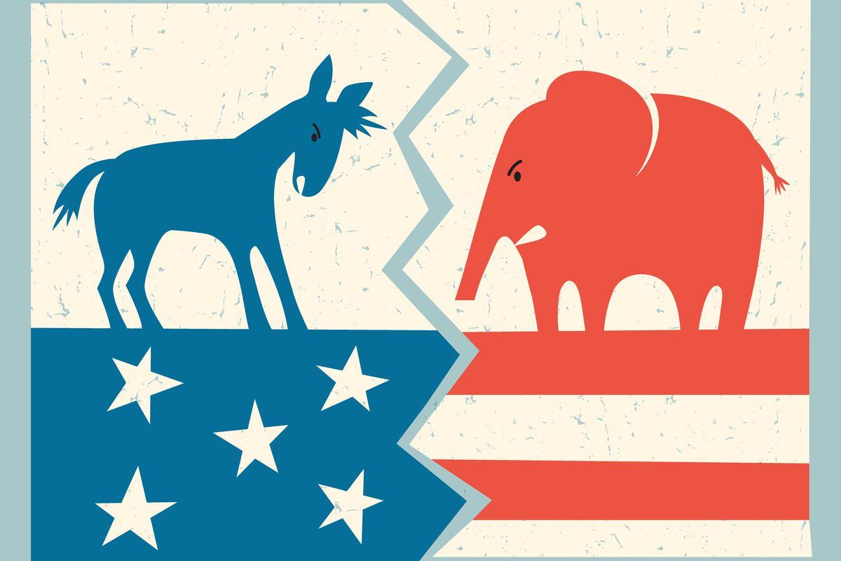 How Both Democrats And Republicans >> Trump Vs Obama A New Theory Of Why Republicans And Democrats Fight