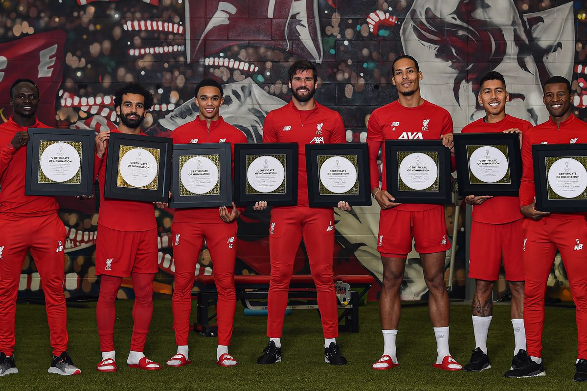 Liverpool Players Receive Their Ballon D'or Nominations