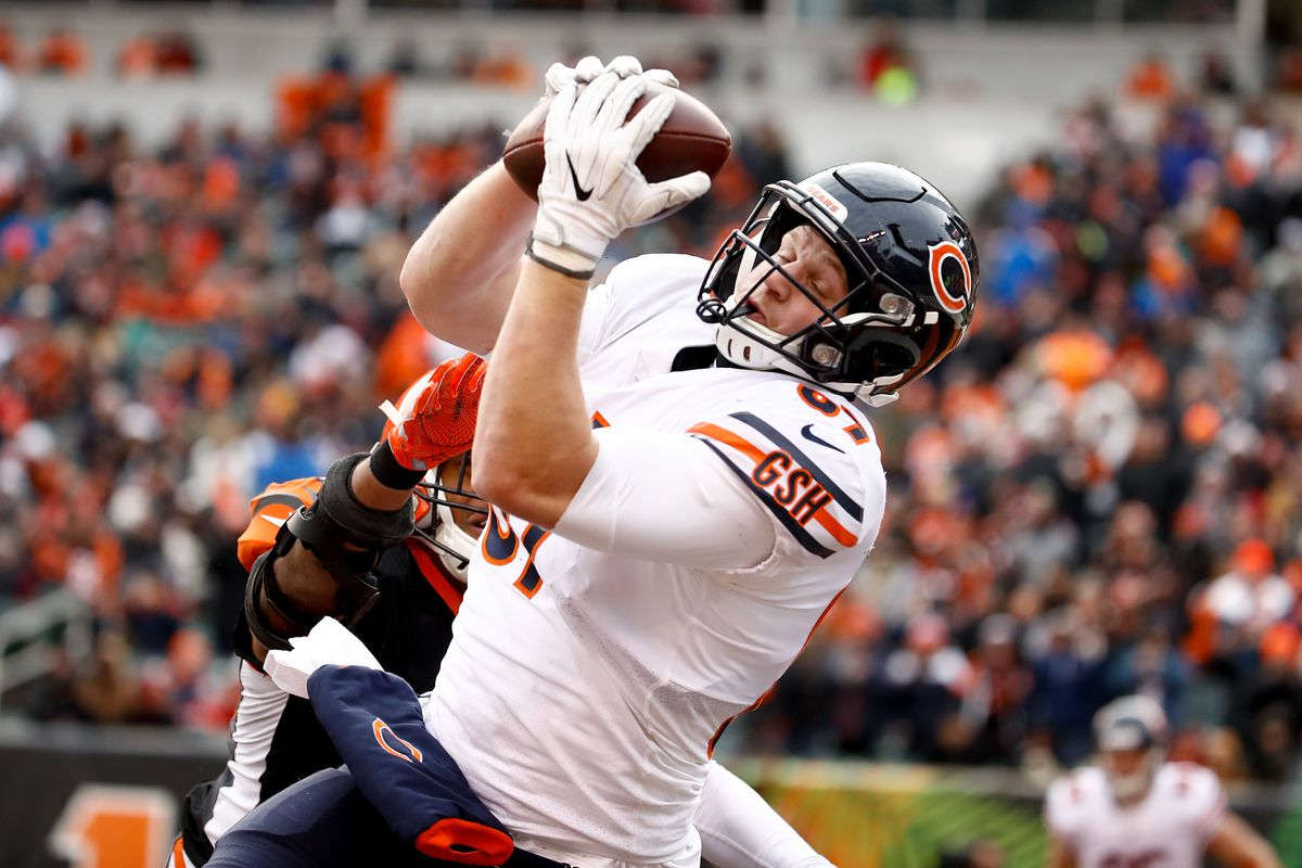 huge selection of 776f7 5dee1 Report: Adam Shaheen's injury not as bad as expected, could ...