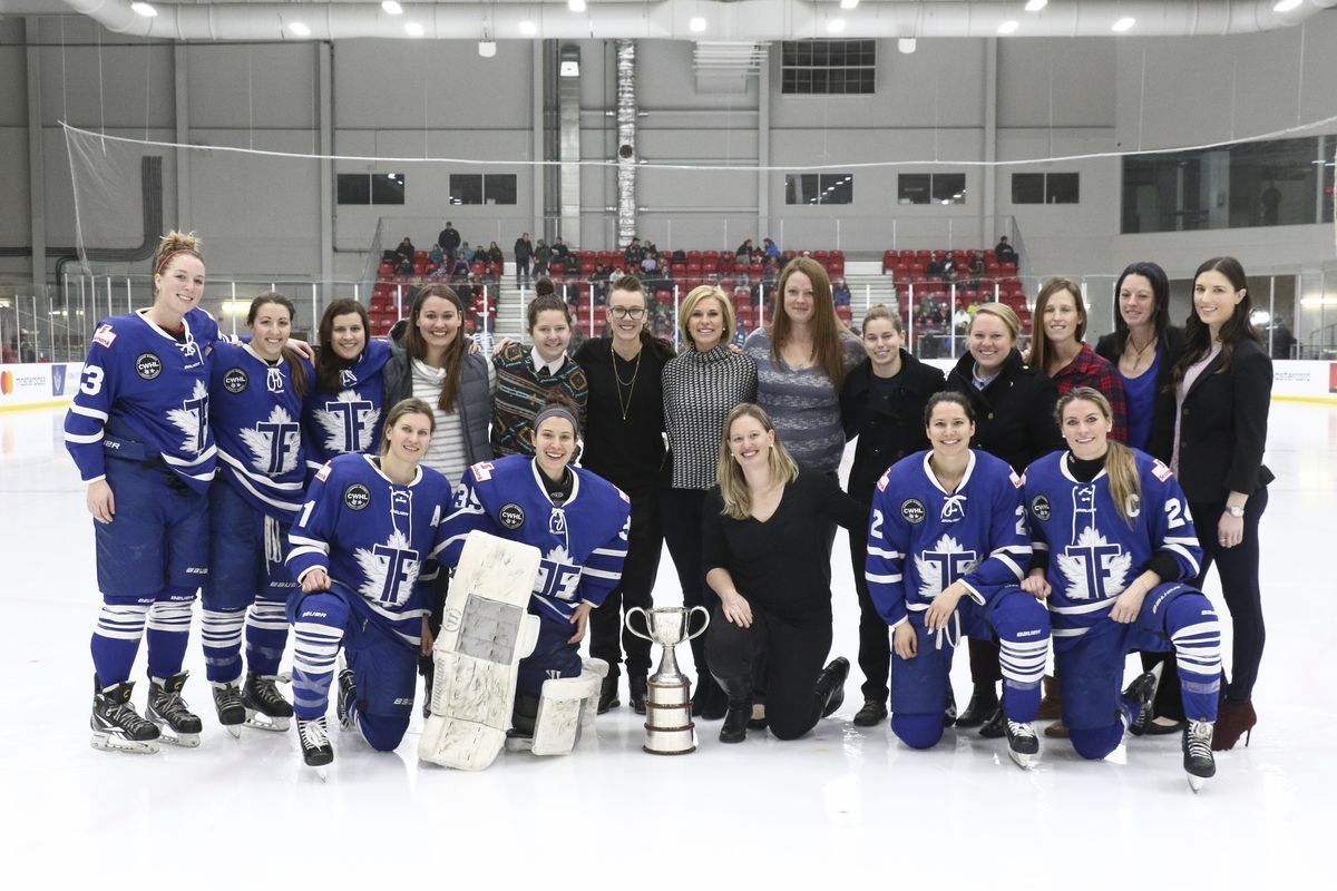 Furies with the Clarkson Cup