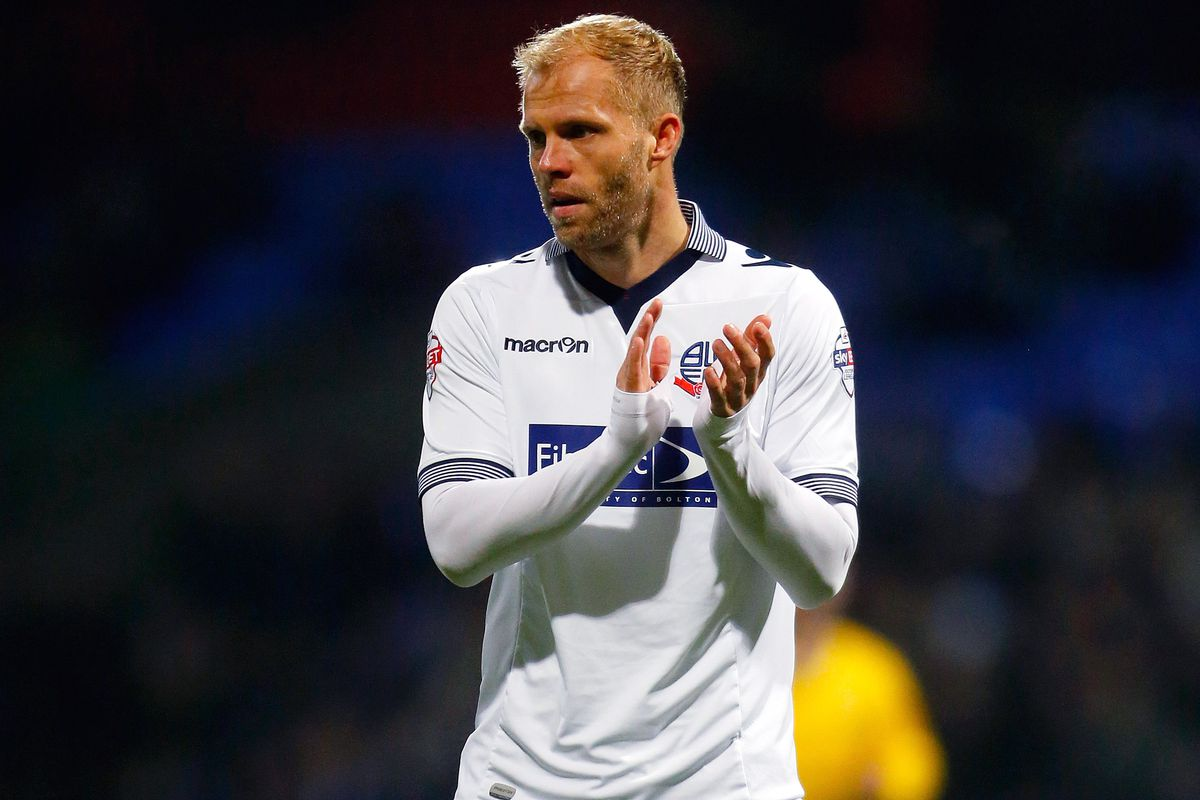 Eidur Gudjohnsen rescued Bolton a point last time out at home to Leeds