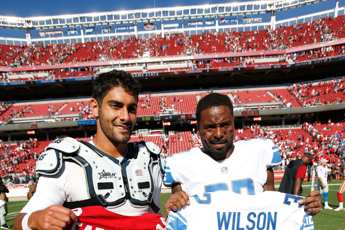 Detroit Lions v San Francisco 49ers