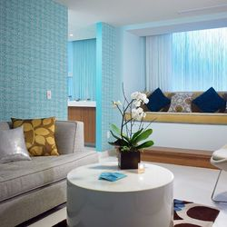 """<b>Bliss Dallas at the W Dallas-Victory:</b> Situated on the 16th floor of the hotel, the brand's first location in Texas """"turns cowgirls into 'wow' girls"""" with signature services like the Triple Oxygen Treatment and Carrot & Sesame Body Buff. The 5,100-s"""