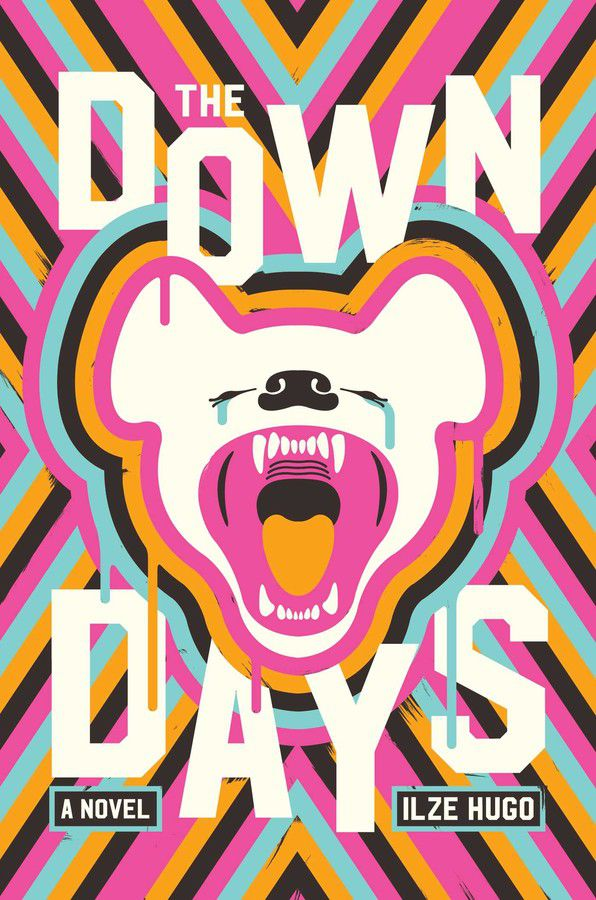 The Down Days by Ilze Hugo cover