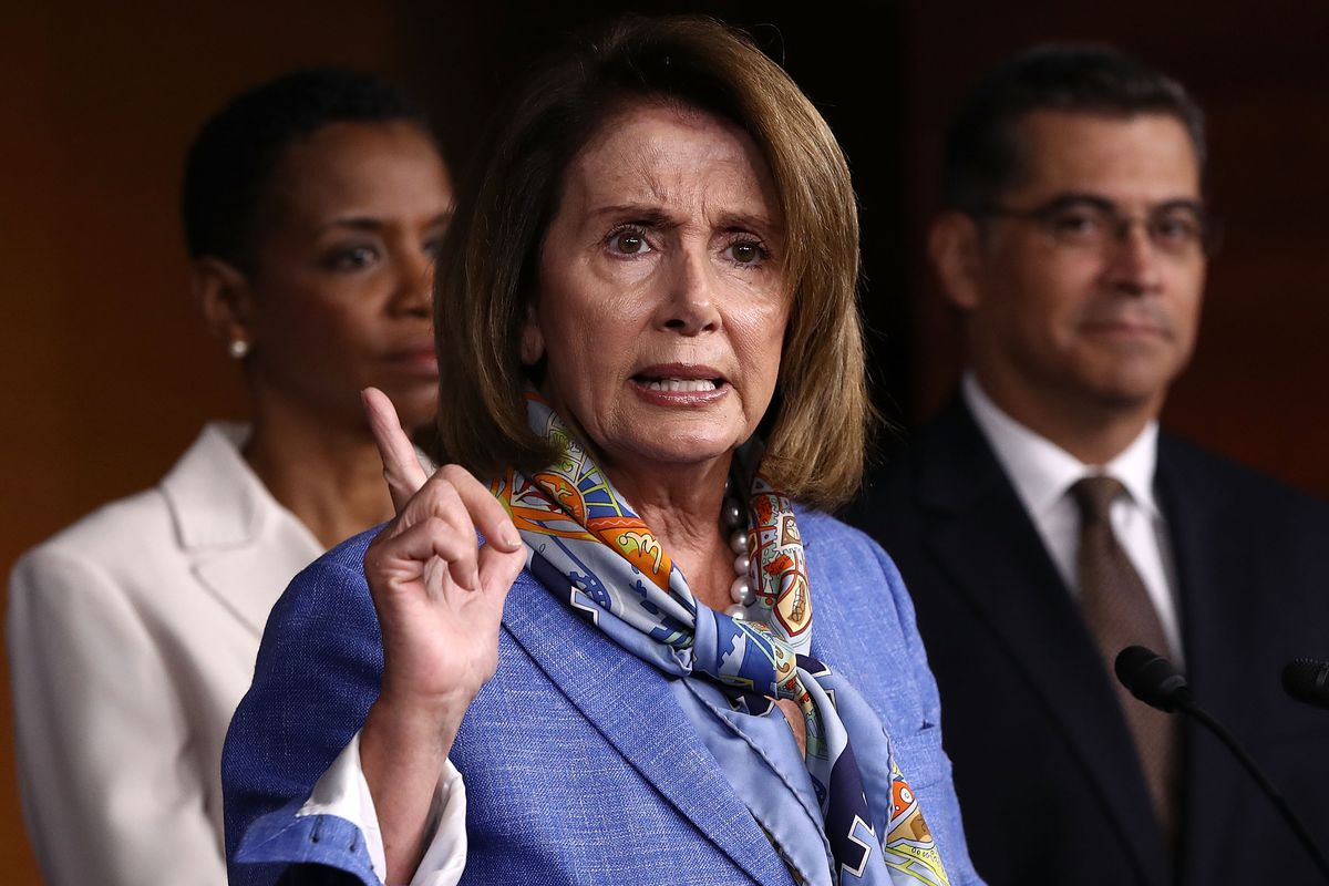 House Minority Leader Nancy Pelosi is going to be eager for an opportunity to reclaim her gavel. Is it possible? (Allison Shelley/Getty Images)