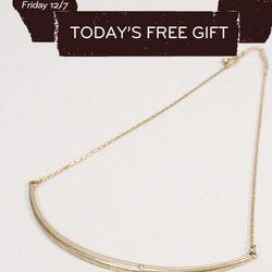 Free gift! Xanadu necklace, regularly $32