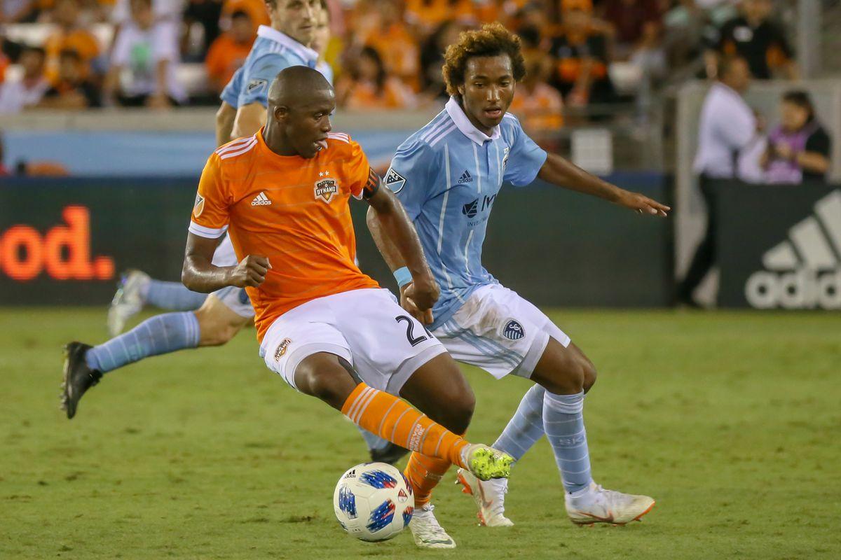 SOCCER: AUG 04 MLS - Sporting Kansas City at Houston Dynamo