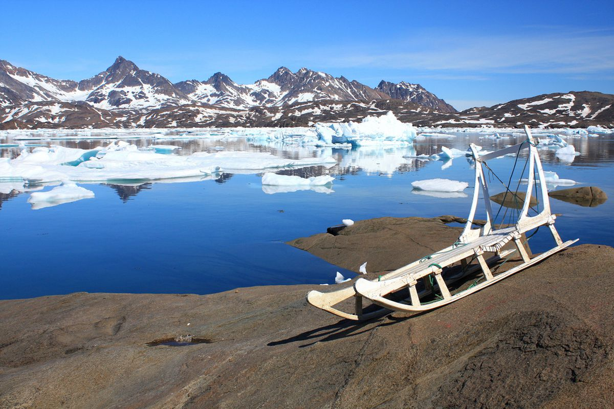 Tasiilaq, Greenland —one country that could stand to benefit from a warmer climate.