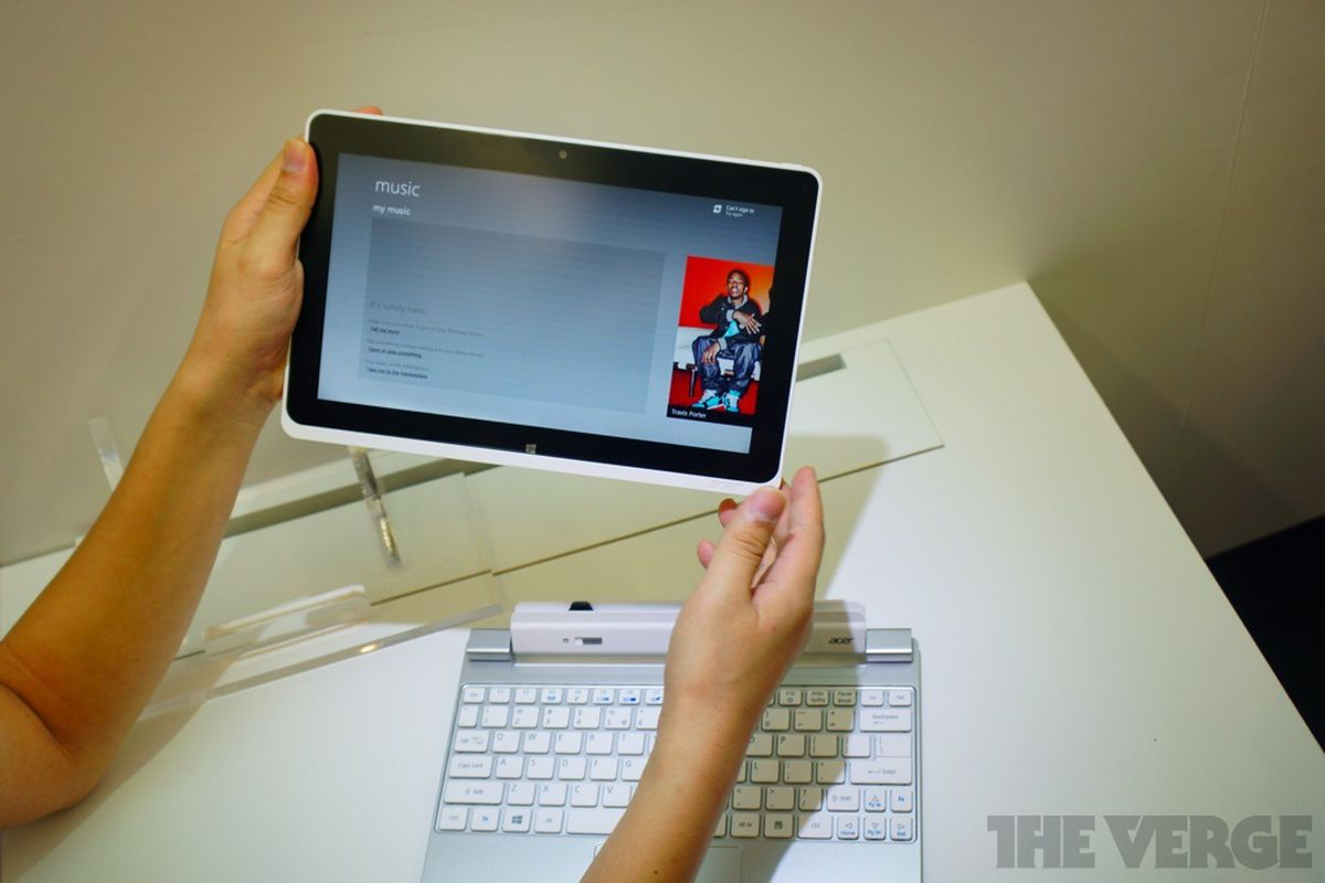 Gallery Photo: Acer Iconia W510 photos