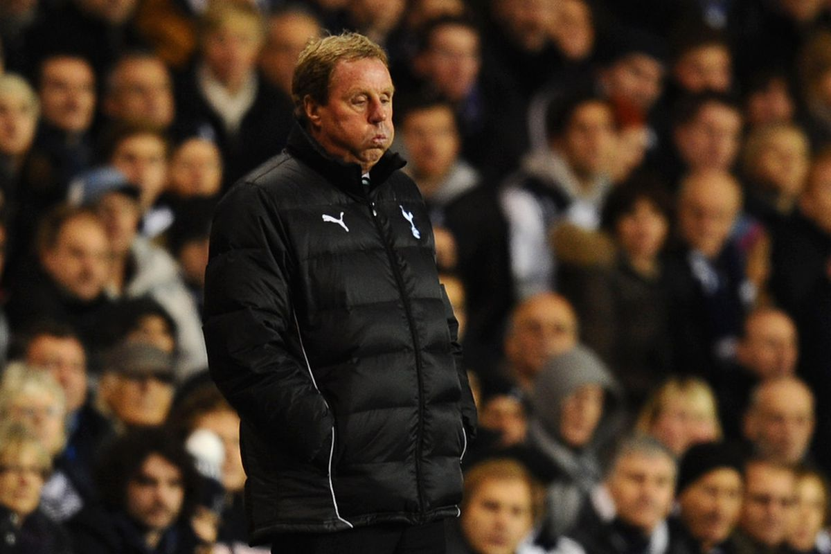 Here's hoping 'Arry and his t'riffic players have another bad day at the office this Sunday afternoon