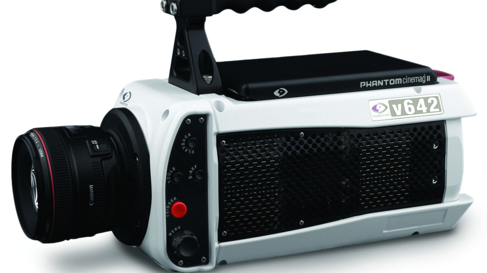 Phantom v642 high speed broadcast camera shoots at 5 for Web tv camera