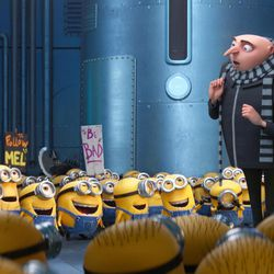 """Gru (Steve Carell) and the Minions return in """"Despicable Me 3."""""""
