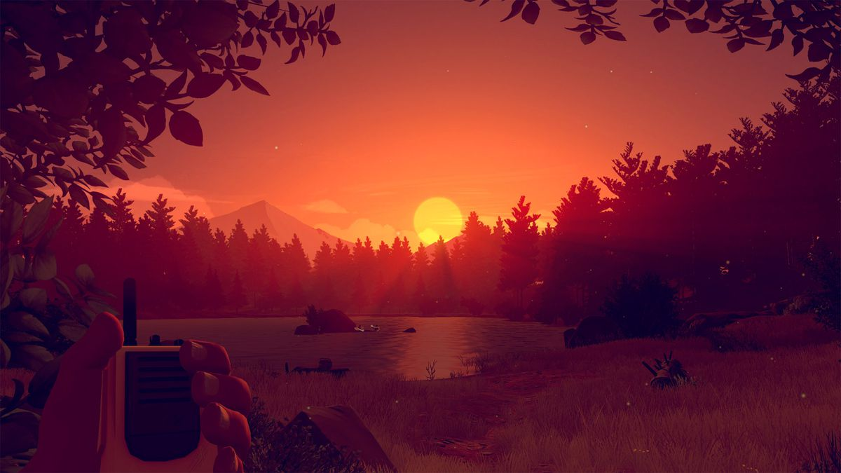 Firewatch lake