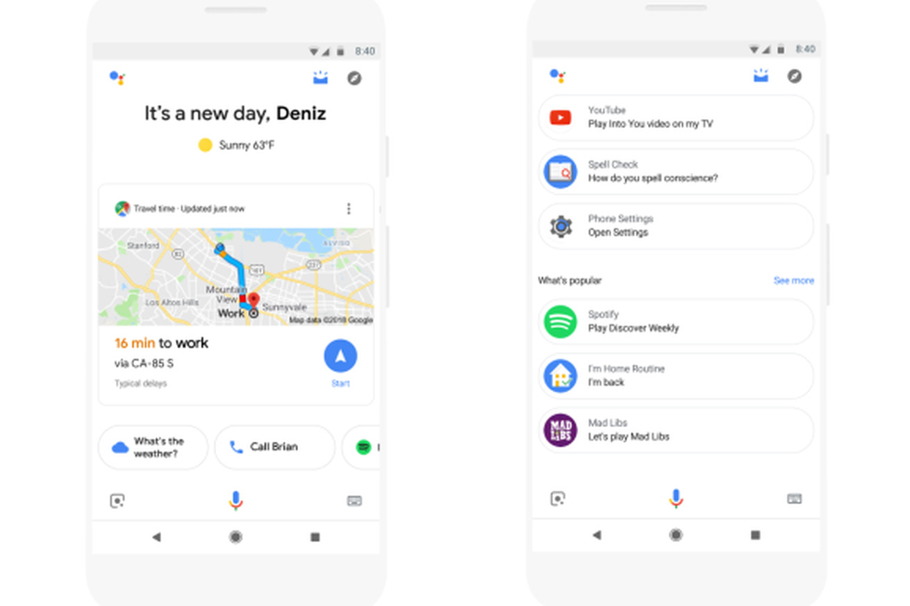 now you can use google assistant to map out your day