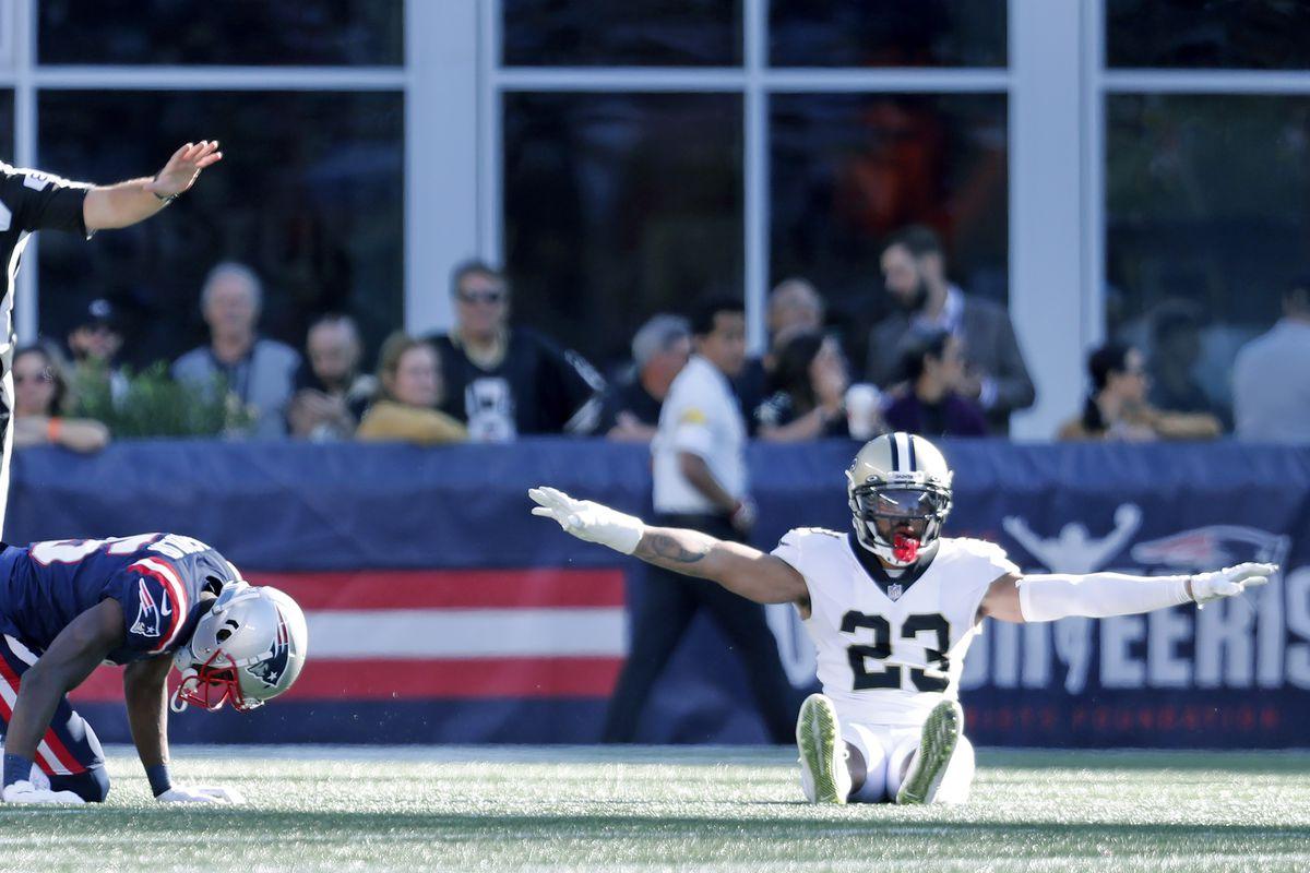 New Orleans Saints Vs. New England Patriots At Gillette Stadium