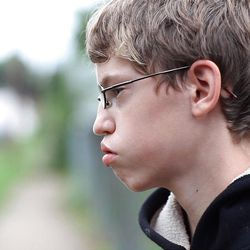 """In this undated film image released by The Weinstein Company, Alex Libby is shown in the documentary film, """"Bully."""""""