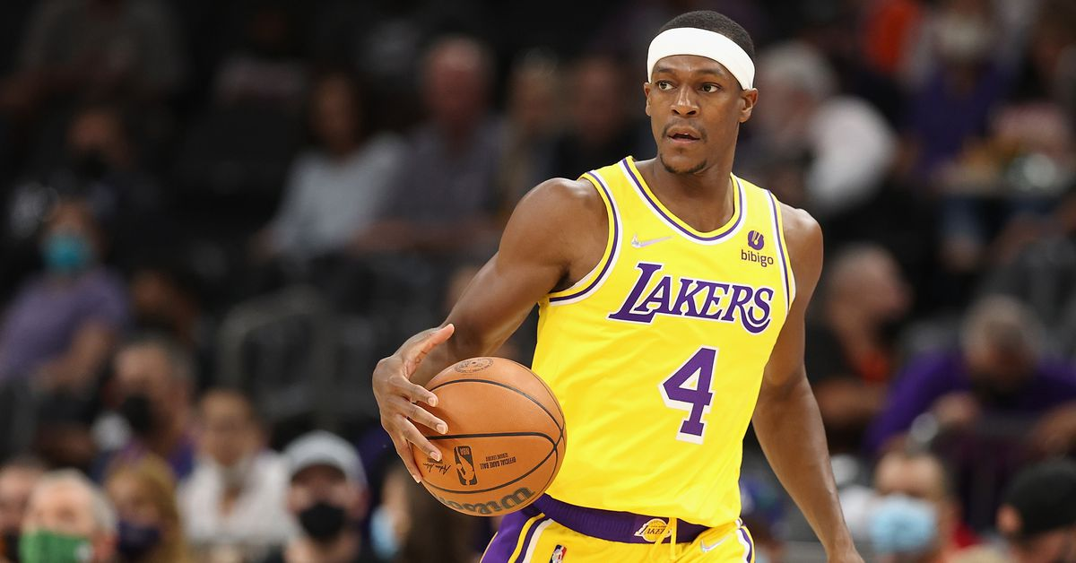 Rajon Rondo playing may not have been the Lakers' plan, but it may be what they need - Silver Screen and Roll