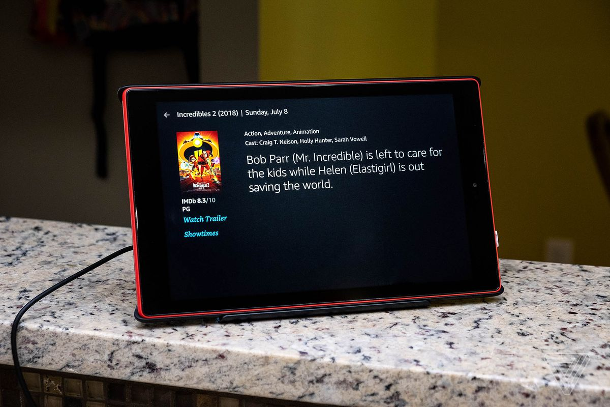 Amazon S Dock Makes The Fire Tablet A Better Echo Show The Verge