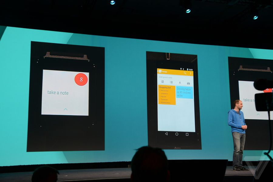 Google demos Android Wear, shows off third-party apps ...