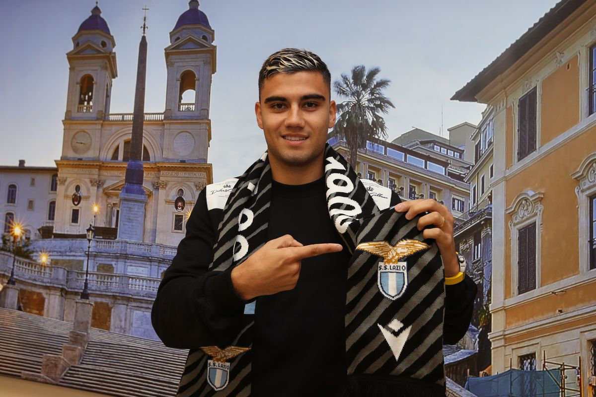 SS Lazio New Signing Andreas Pereira Arrives In Rome