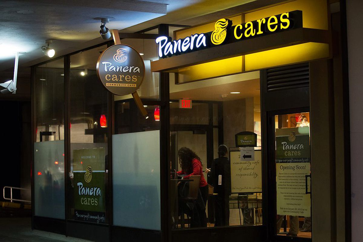 Panera's Utopic Pay-What-You-Want Restaurant Dream Is Dead Panera_Cares.0