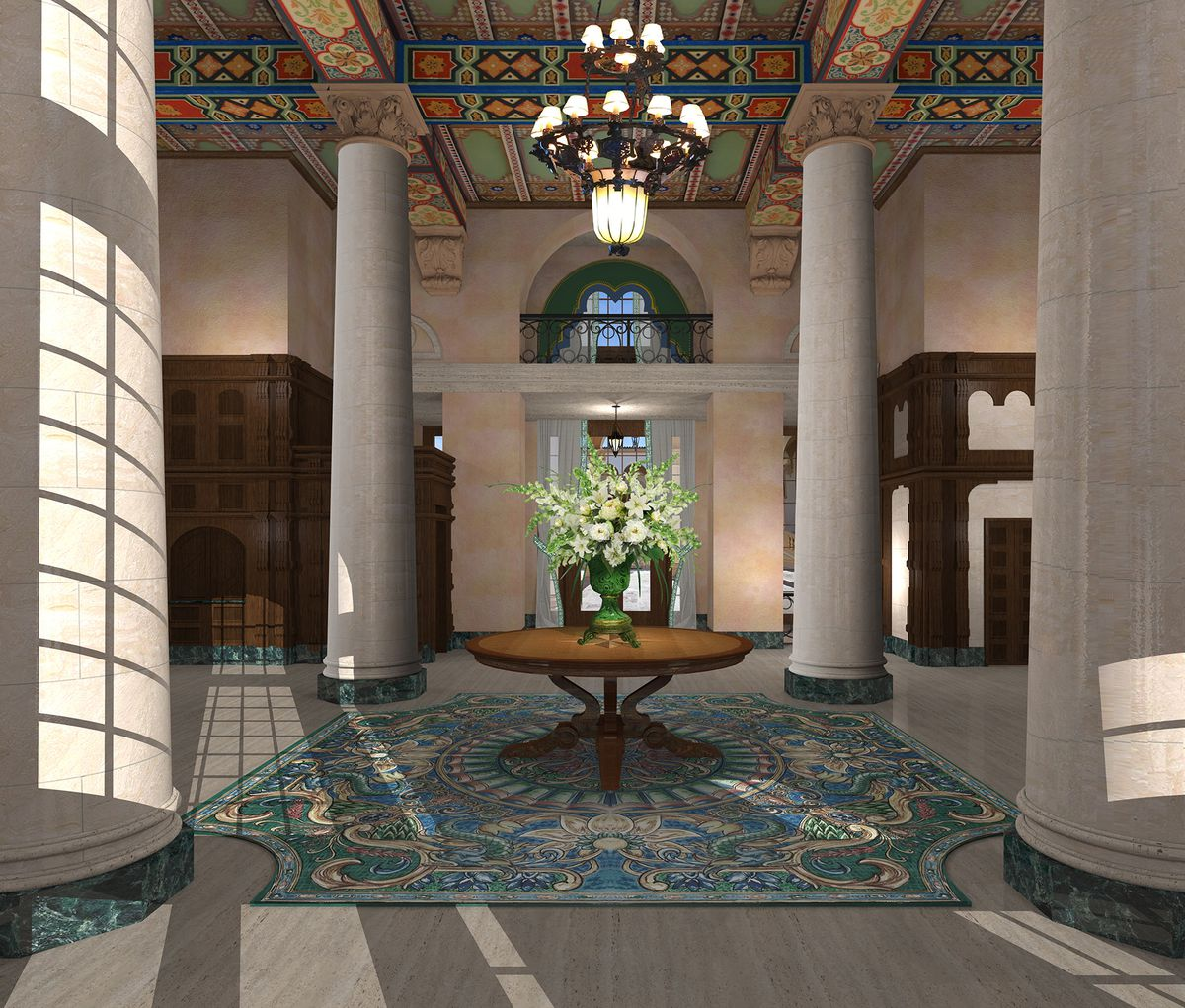Miami S Historic Biltmore Hotel To Undergo Lobby