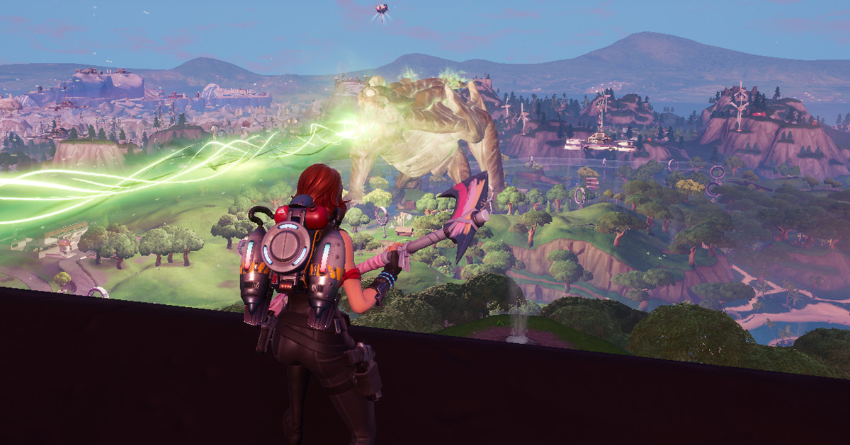 Fortnite's latest end-of-season event was a giant mecha vs ...
