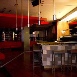 The bar area at Planet Hollywood Restaurant & Bar