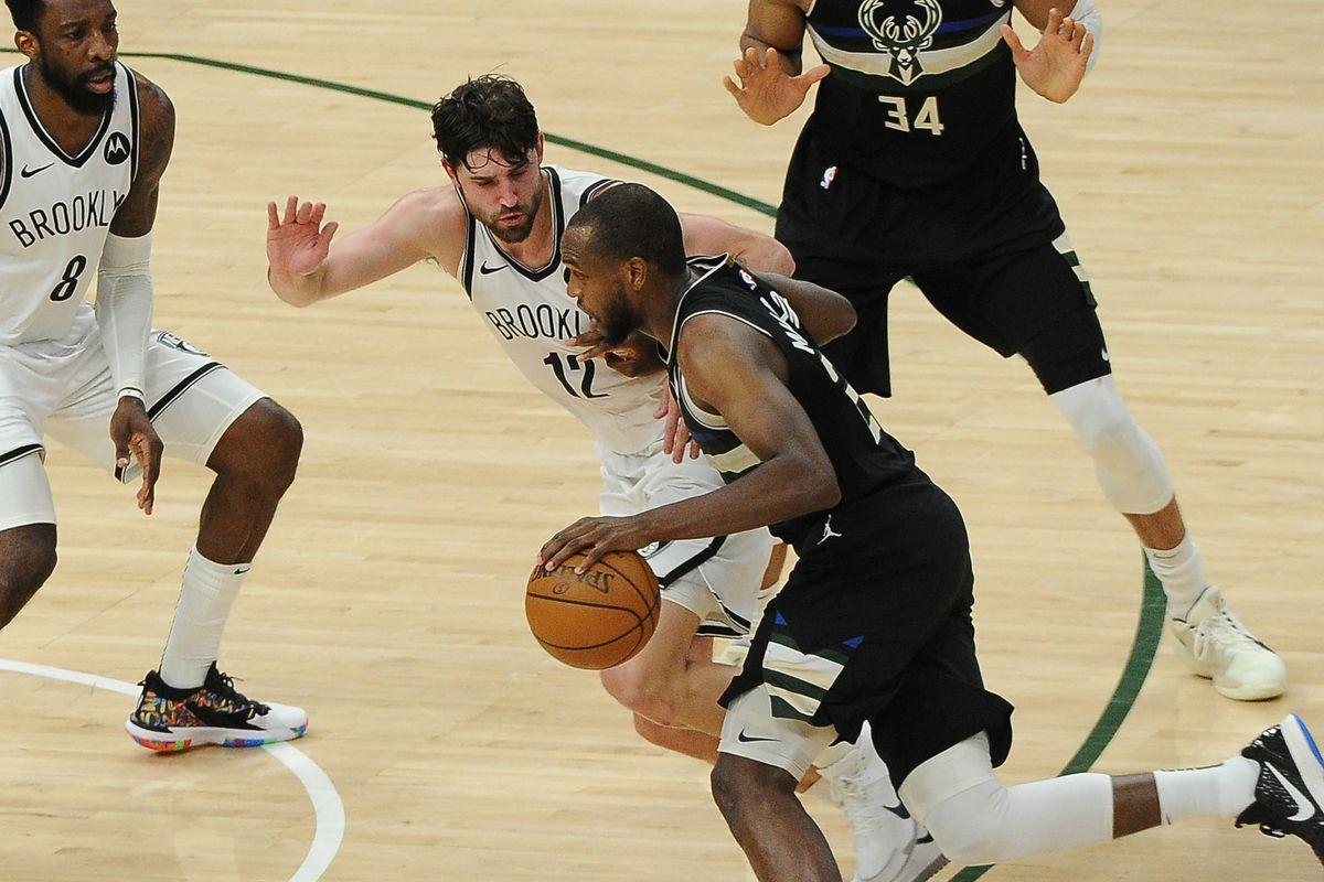 NBA: Playoffs-Brooklyn Nets at Milwaukee Bucks