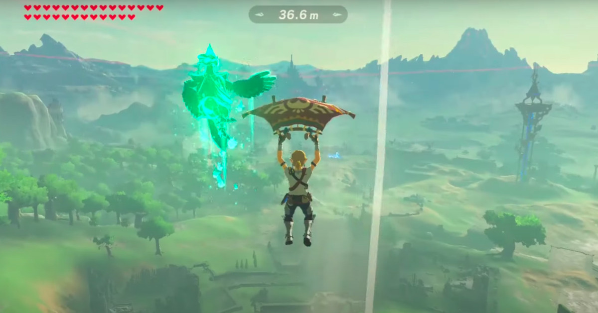 Breath of the Wild trick shot defies the laws of physics, understanding – Polygon