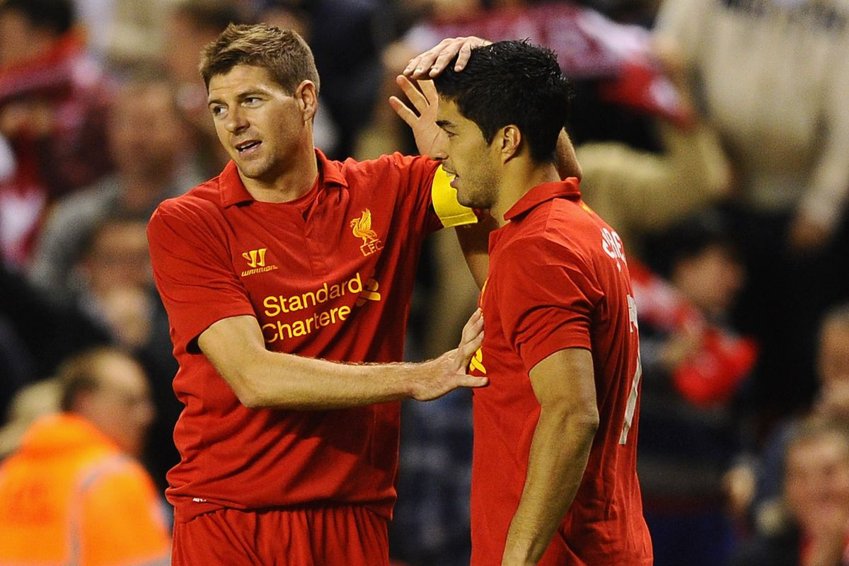 Teammates at Liverpool, but they're set to lock horns in Brazil next month. Photo Credit