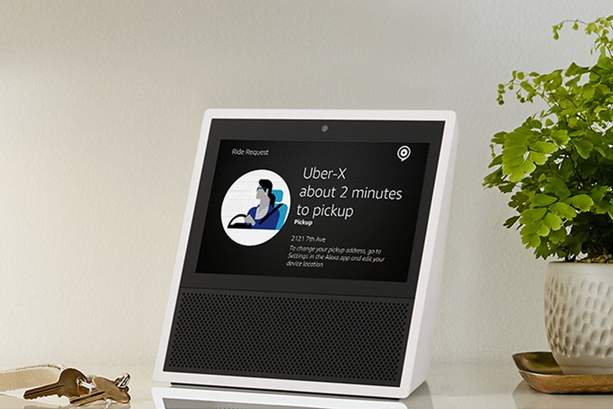 amazon s new echo show proves that the smart home. Black Bedroom Furniture Sets. Home Design Ideas