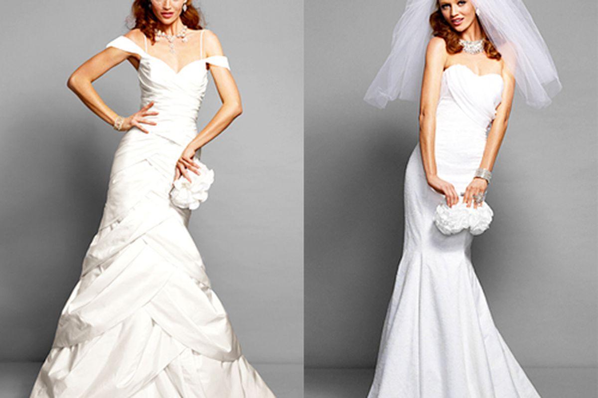 """Photos via <a href=""""http://news.instyle.com/2011/12/28/bebe-bridal-line/"""">InStyle</a>"""
