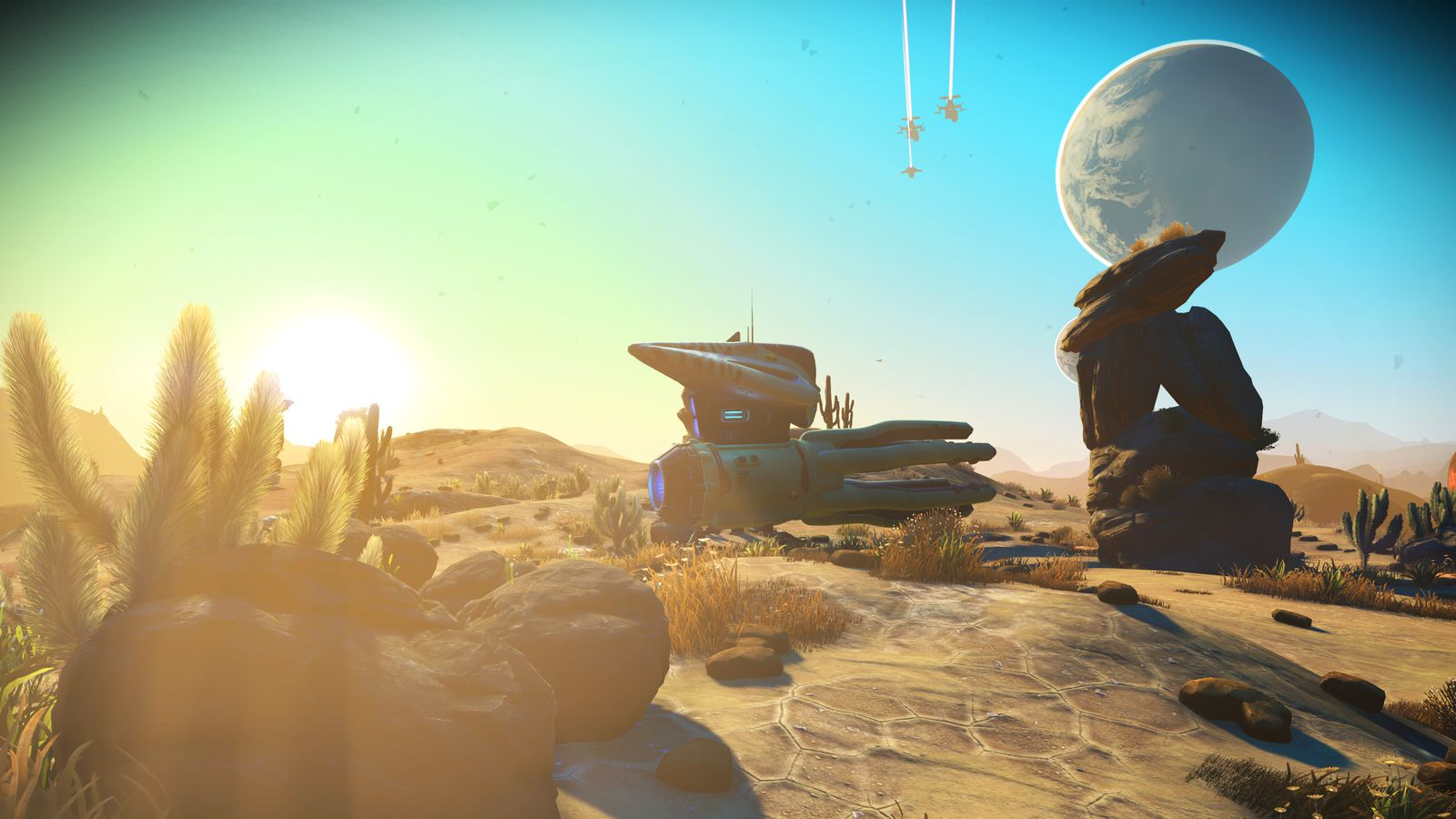 Massive No Man's Sky update adds multiplayer, 30 hours of story and much more