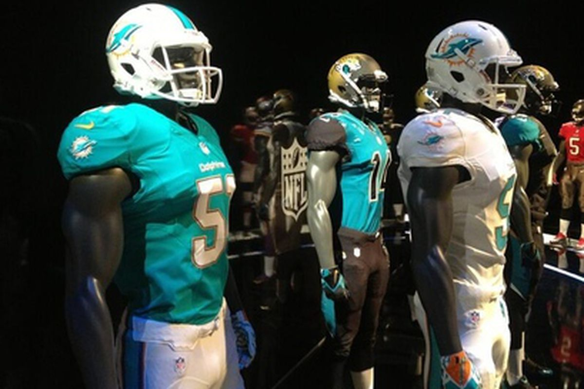 After months of waiting, the Dolphins' new look is upon us.