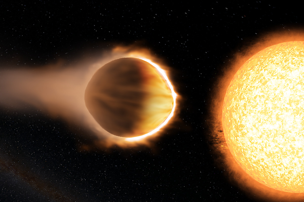 Hubble Finds 'Hot Jupiter' Exoplanet Has Glowing Atmosphere Of Water
