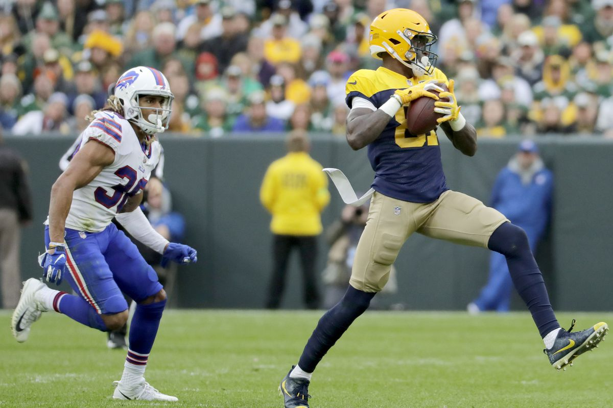 8beb96d9 Packers 2018 Roster Grades, WRs: Davante Adams dominates while the ...