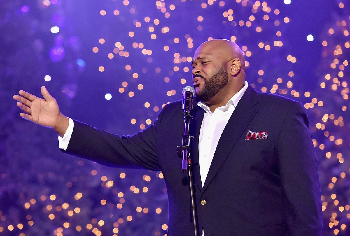 """Ruben Studdard is among the lineup for """"The Colors of Christmas,' Dec. 15 at the Rialto Square Theatre in Joliet. 