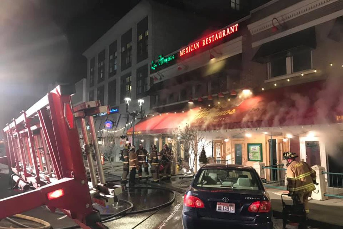 Firefighter Injured After Utah Mexican Restaurant Catches