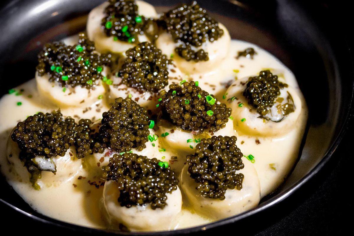 Caviar at Lazy Bear