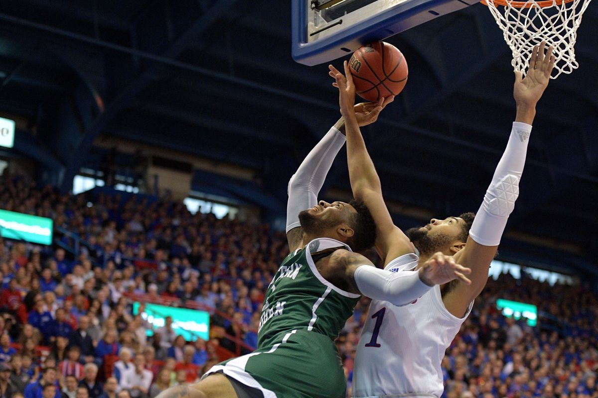NCAA Basketball: Eastern Michigan at Kansas