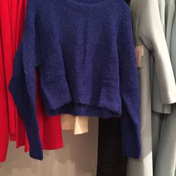 Apiece Apart cropped sweater, $88