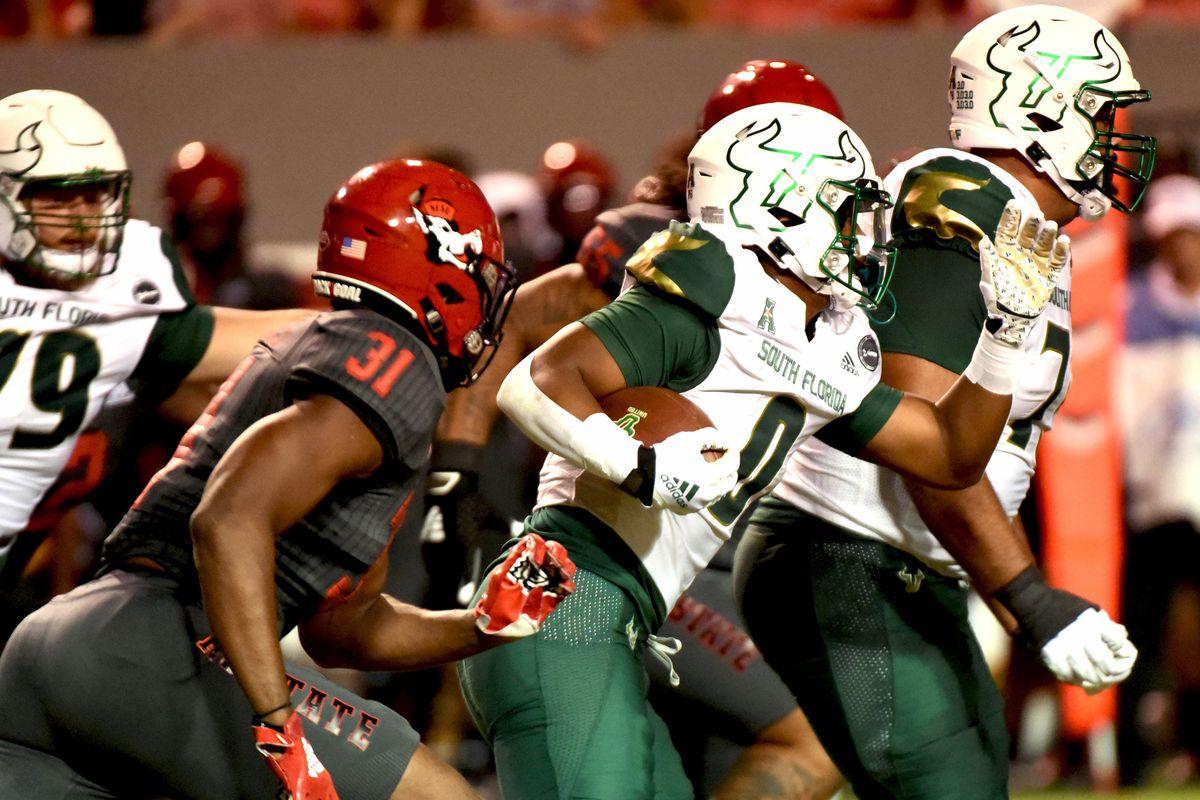 NCAA Football: South Florida at North Carolina State