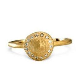 "Satomi Kawakita 18K gold ring with white diamonds, <a href=""http://www.shopesqueleto.com/search.asp?TypeID=1#""></a>$1,210 at Esqueleto."
