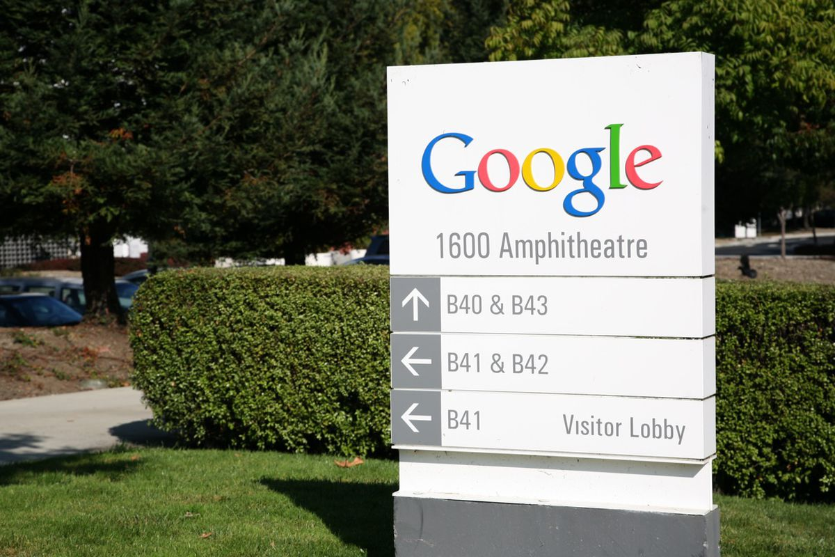 Google's tree-lined Mountain View headquarters is attractive, but a big office tower would make the area more walkable.