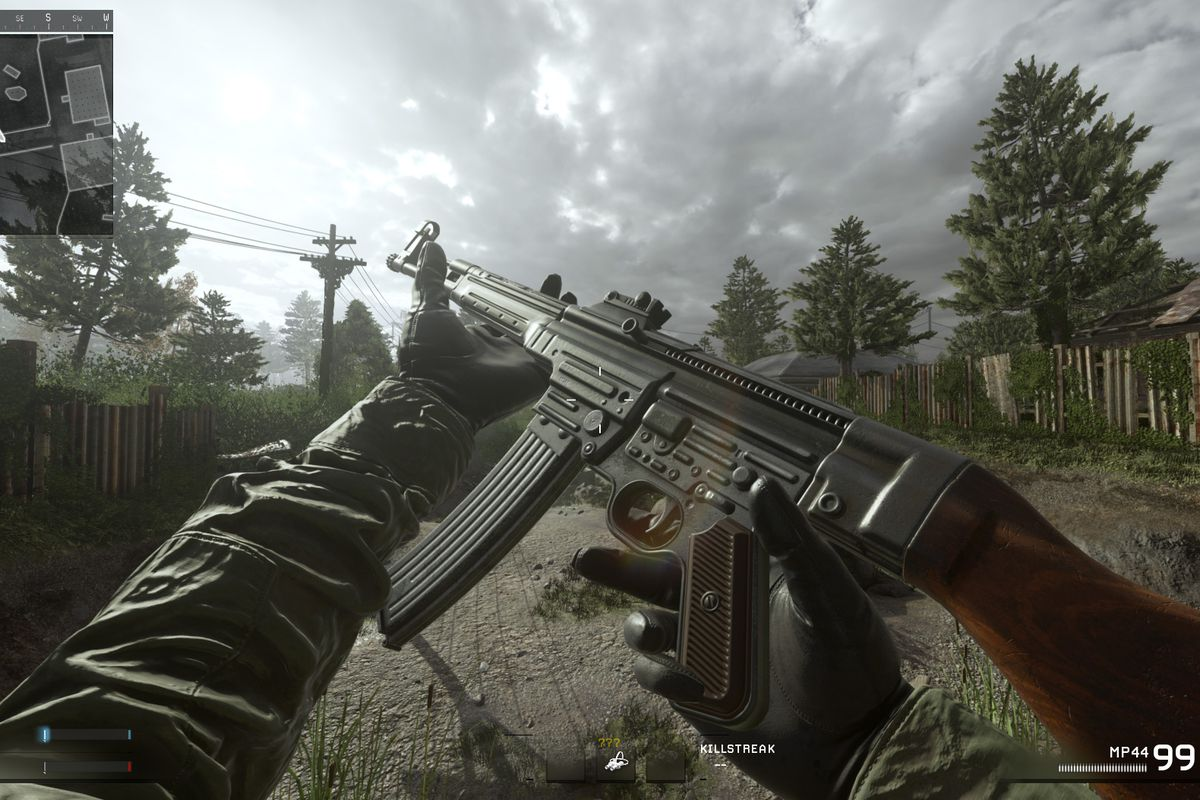 Players dig up hidden weapons in Modern Warfare Remastered
