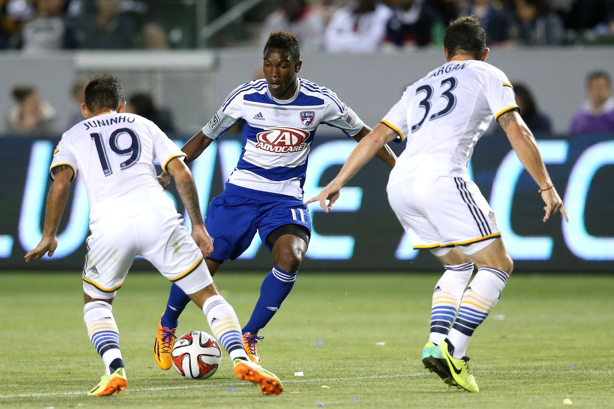 Fabian Castillo is back from injury and ready to take on the Galaxy.