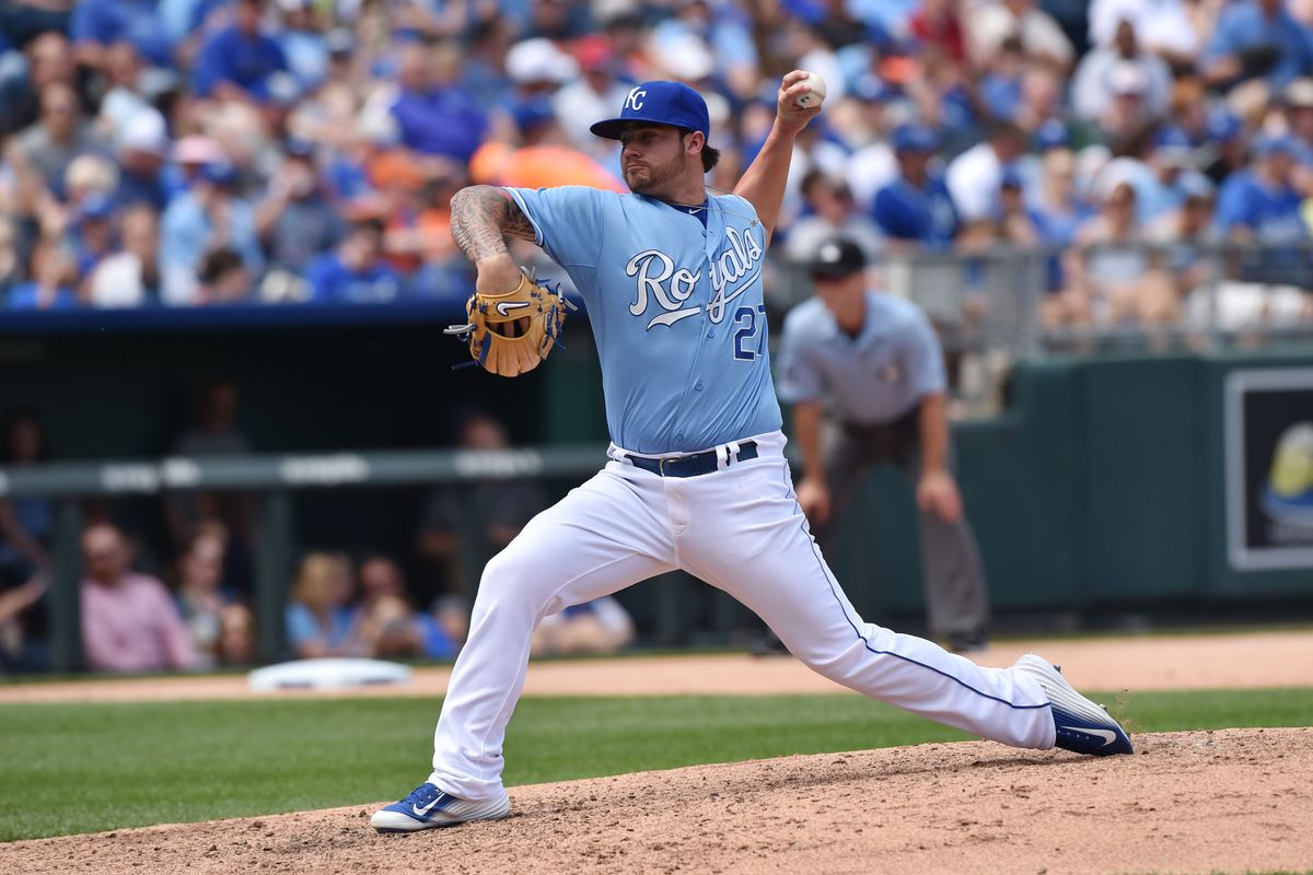 No more blue for Brandon Finnegan...he'll be donning RED soon.