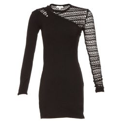 """<b>Iro</b> Oxford Dress, <a href=""""http://www.scoopnyc.com/long-sleeve-bodycon-open-knit-sleeve-dress.html#image-0"""">$181.30</a> after additional 30% discount (from $440) at Scoop"""