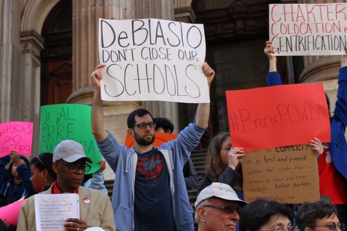 Education Department Protest